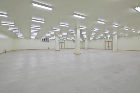 2階冷蔵倉庫