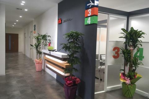 事務室入口